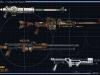 Sada střelných zbraní Imperial Agenta