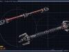 Dvojité světelné meče Sith Inquisitora
