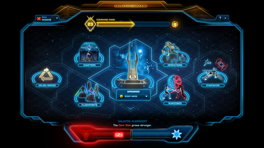Galactic Command Overview