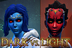 Dark vs. Light Event